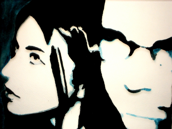 Amy Lee, Ben Moody by Colleen